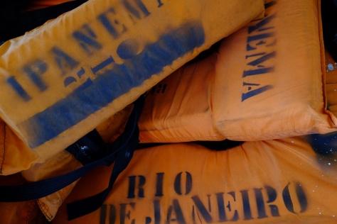 Le traversier s'appelle Ipanema
