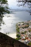 Vue d'Urca depuis les hauteurs