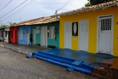"""""""Cuadrado"""", place centrale, D'Arraial d'Ajuda"""