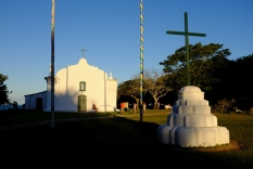 Au centre du cuadrado, l'église jésuite du 16ème siècle.