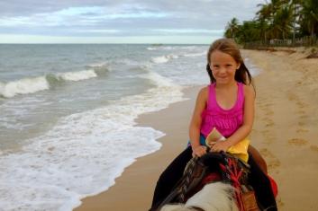 Amazone sur la plage