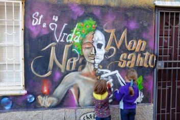 Graffiti anti-Monsanto