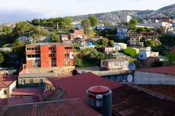 Une des 44 collines qui dominent Valparaiso