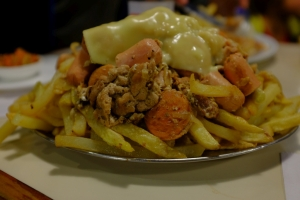 poutine chilienne