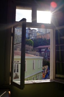 La vue de notre chambre