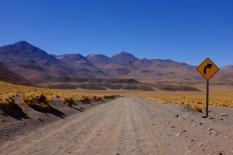 La route de retour. Détour de 2h à travers les montagnes
