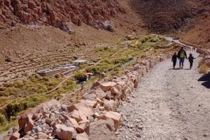 Dernière excursion pour notre séjour à San Pedro de Atacama: Les thermes de Puritama