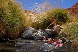 Sources d'eau chaude à 3500 mètres d'altitude