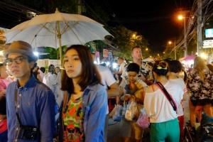 Beaucoup de touristes chinois à Chiang Mai aussi.