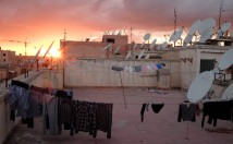 Les toits de Marrakech