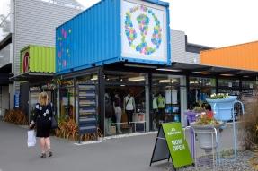 Le village de containers de Christchurch